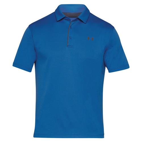 Men's Tech Polo Shirt, Blue, swatch
