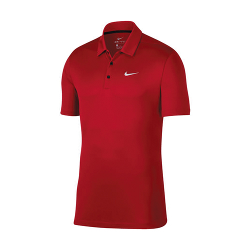 Men's Performance Polo, Red, swatch