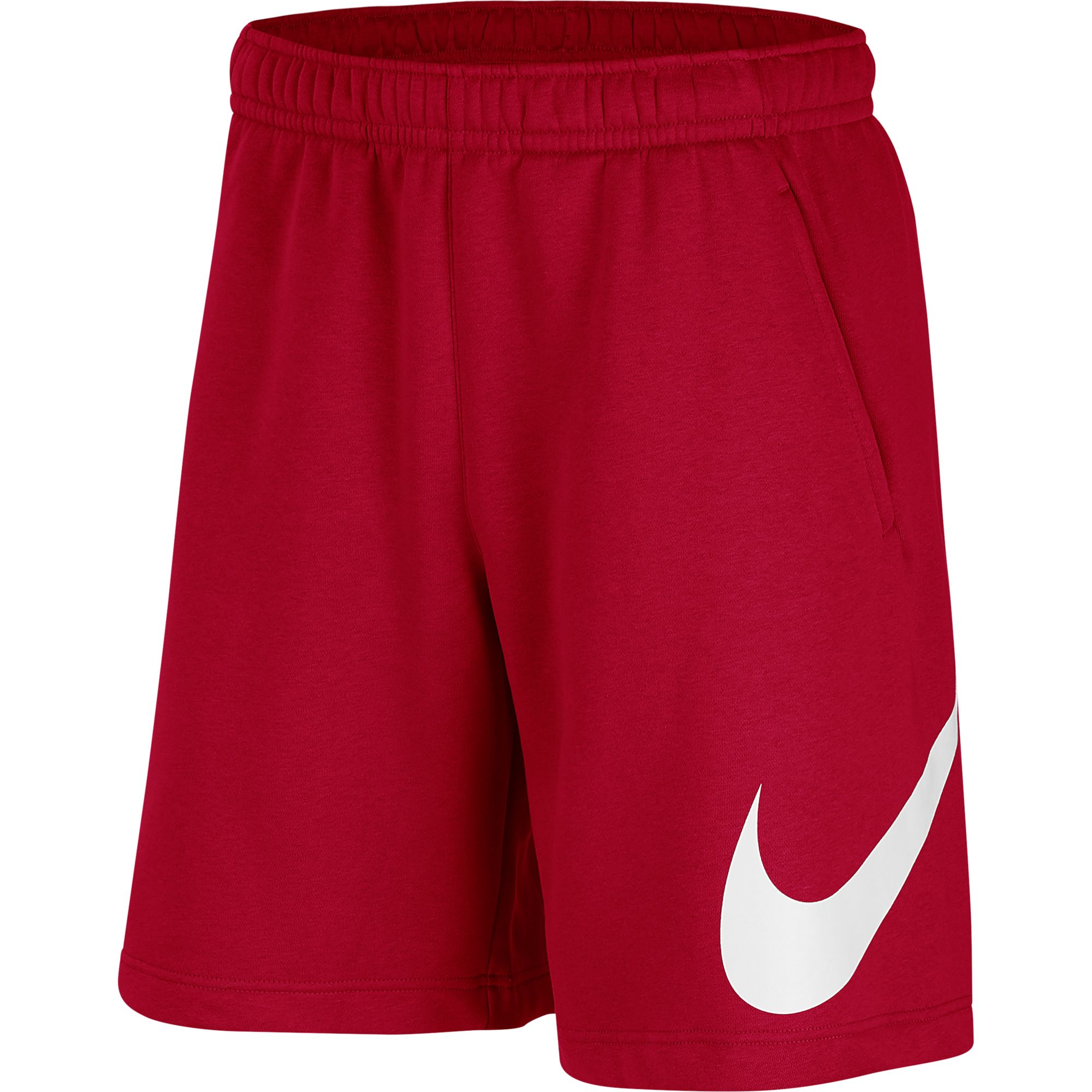 Men's Sportwear Club Graphic Shorts, Red, swatch