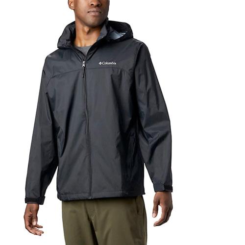 Men's Glennaker Lake  Rain Jacket, Black, swatch