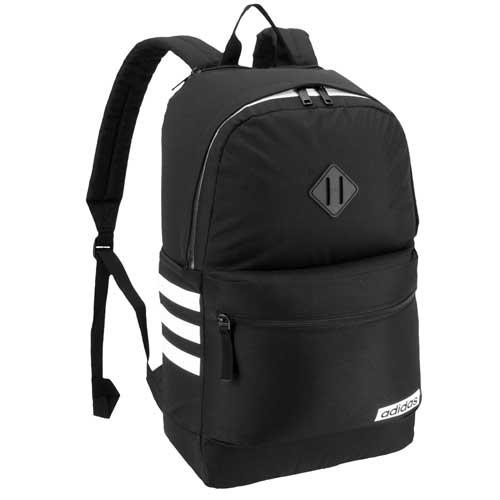Classic 3 Stripe III Backpack, Black/White, swatch