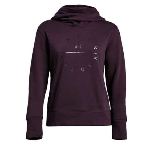 Women's Rival Fleece Tonal Grapic Hoodie, Dk Red,Wine,Ruby,Burgandy, swatch