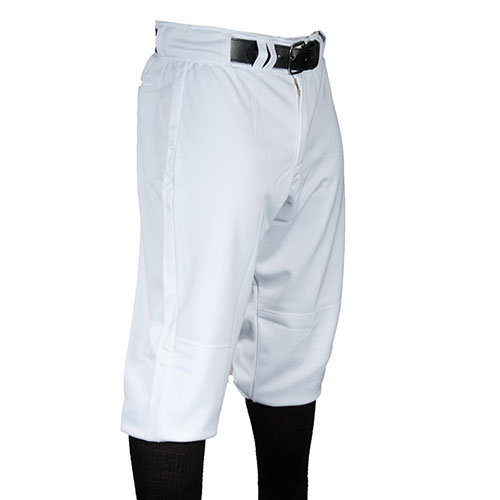 Men's Game Knicker Baseball Pants, White, swatch