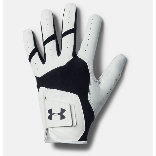 Men's Iso-Chill Right Hand Golf Glove, Black, swatch