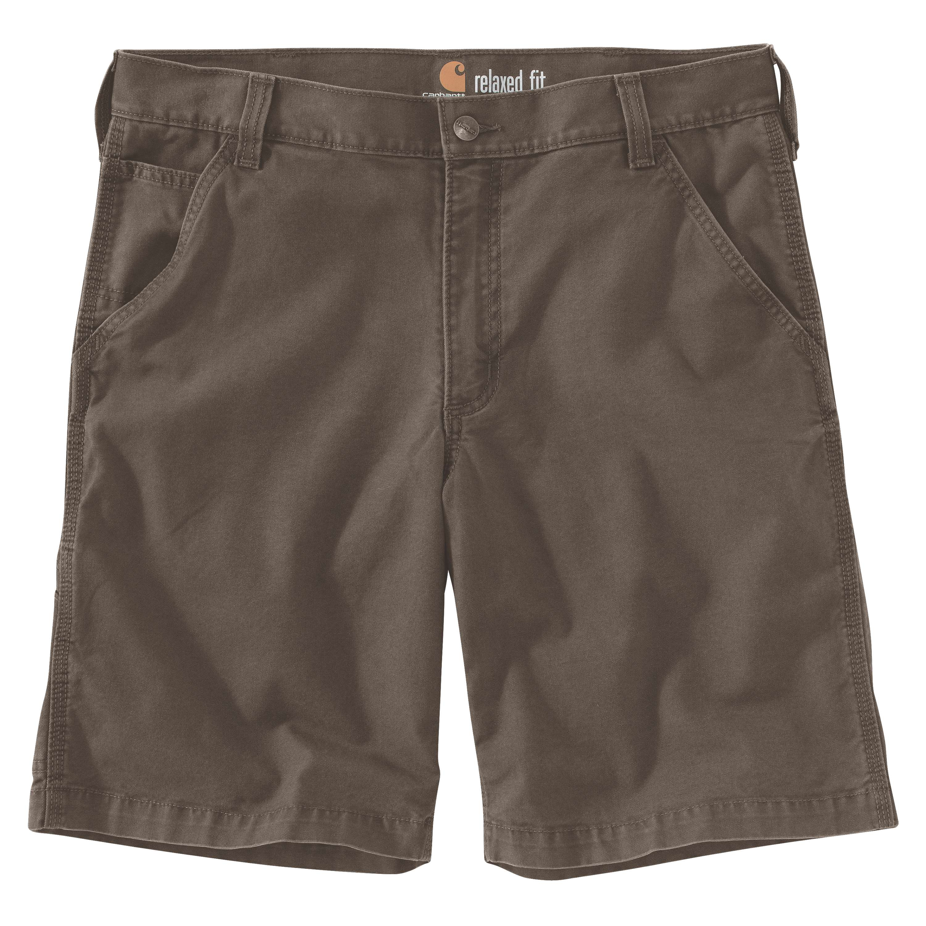 Men's Rugged Flex Rigby Shorts, Gray, large