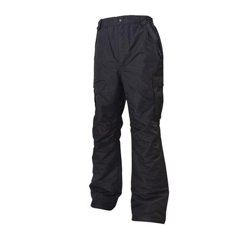 Men's Cargo Snowboard Pants, Black, swatch
