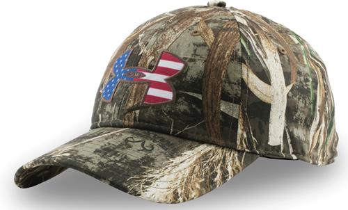 Camo Big Flag Hat, Mossy Oak Treestand, swatch