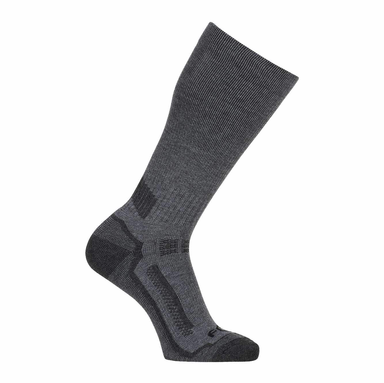 Force Performance Crew Socks 3 Pack, Charcoal,Smoke,Steel, swatch
