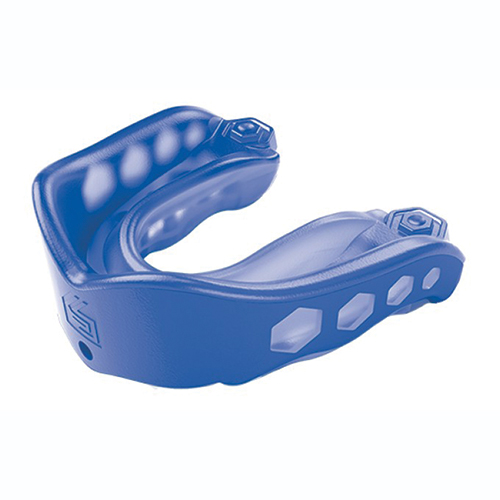 Gel Max Convertible Mouthguard, Blue, swatch