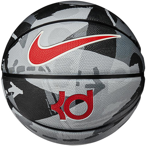 KD Official Basketball, Black/Gray, swatch