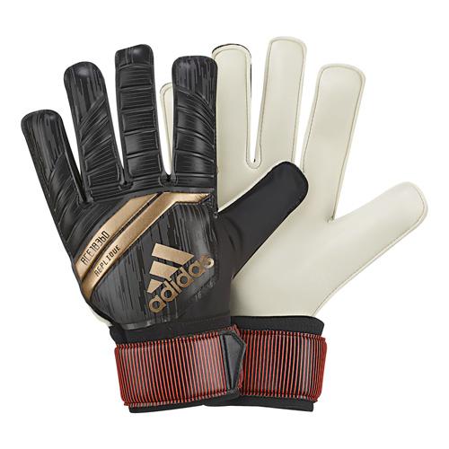 Predator Replique Soccer Gloves, Black/Gold, swatch