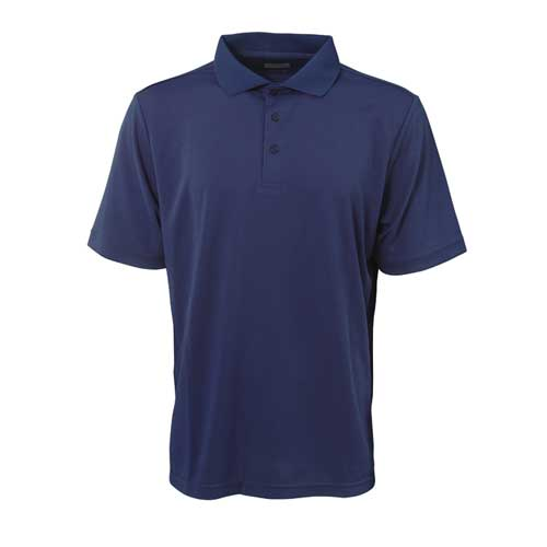 Men's Short Sleeve Golf Polo, Navy, swatch