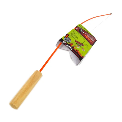 Fire Fishing Pole, Orange, swatch