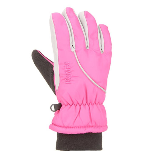 Boys' Snowball Gloves, Pink/White, swatch