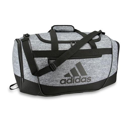 Defender III Small Duffel Bag, Heather Gray, swatch