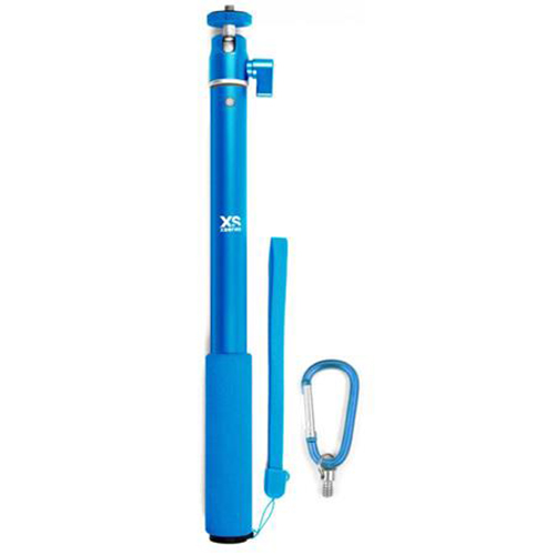 "37"" Telescopic Pole, Blue, swatch"