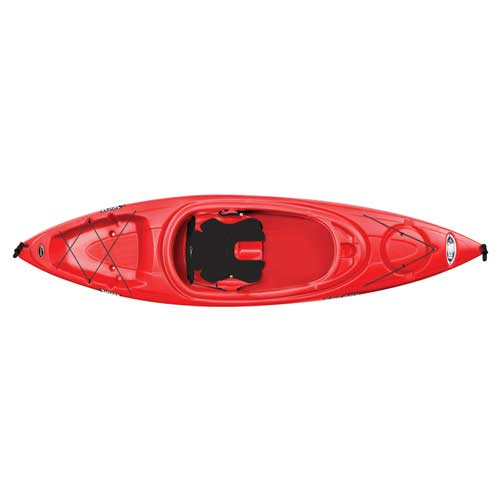 Rise 100x Sit-in Kayak, Red, swatch