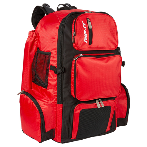 Pack-It-Up Fastpitch Bat Pack, Scarlet, swatch