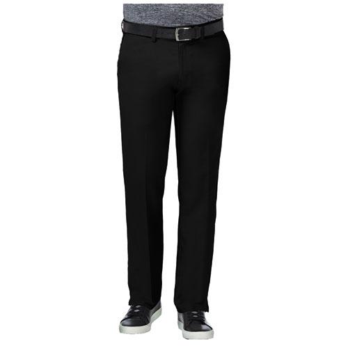 Men's 18 Pro Straight Fit Flat Front Golf Pants, Black, swatch