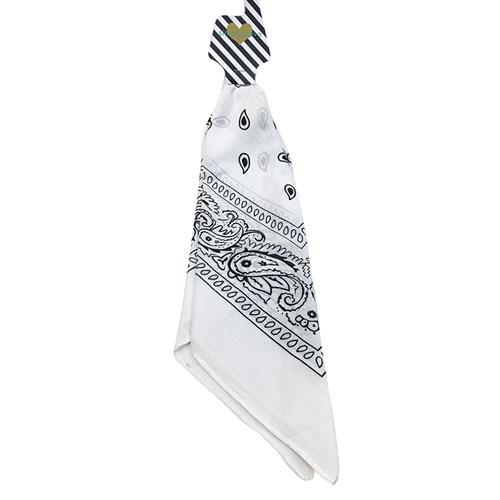 Traditional Bandana, White, swatch