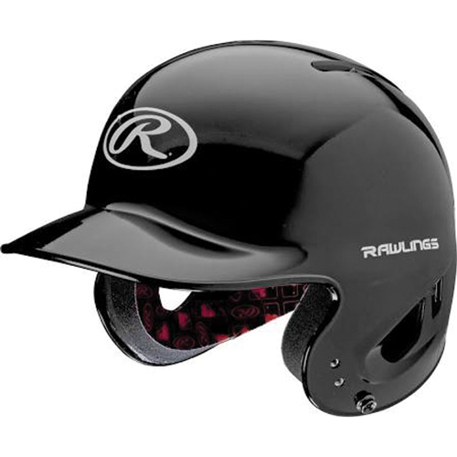 MLB Tee Ball Batting Helmet, Black, swatch