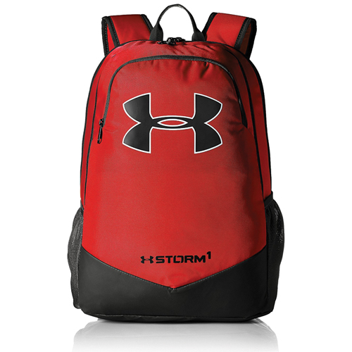 Storm Scrimmage Backpack, Red/Black, swatch