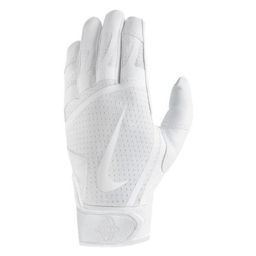 Youth Huarache Edge Batting Glove, White, swatch