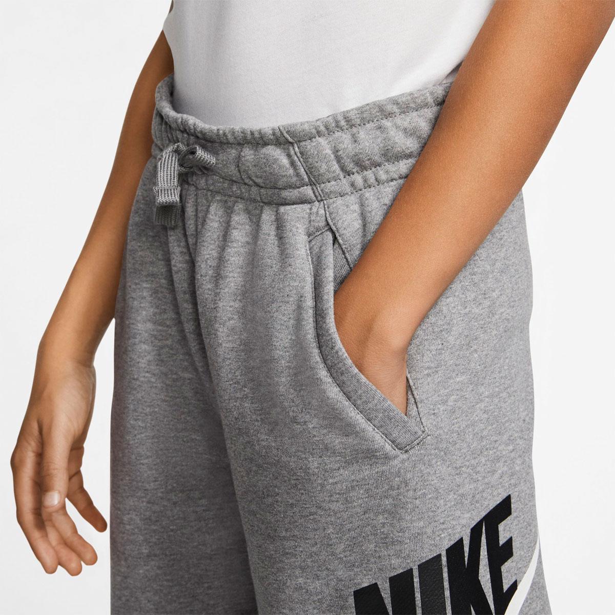 Boys' Sportswear Club Fleece Shorts, Heather Gray, swatch