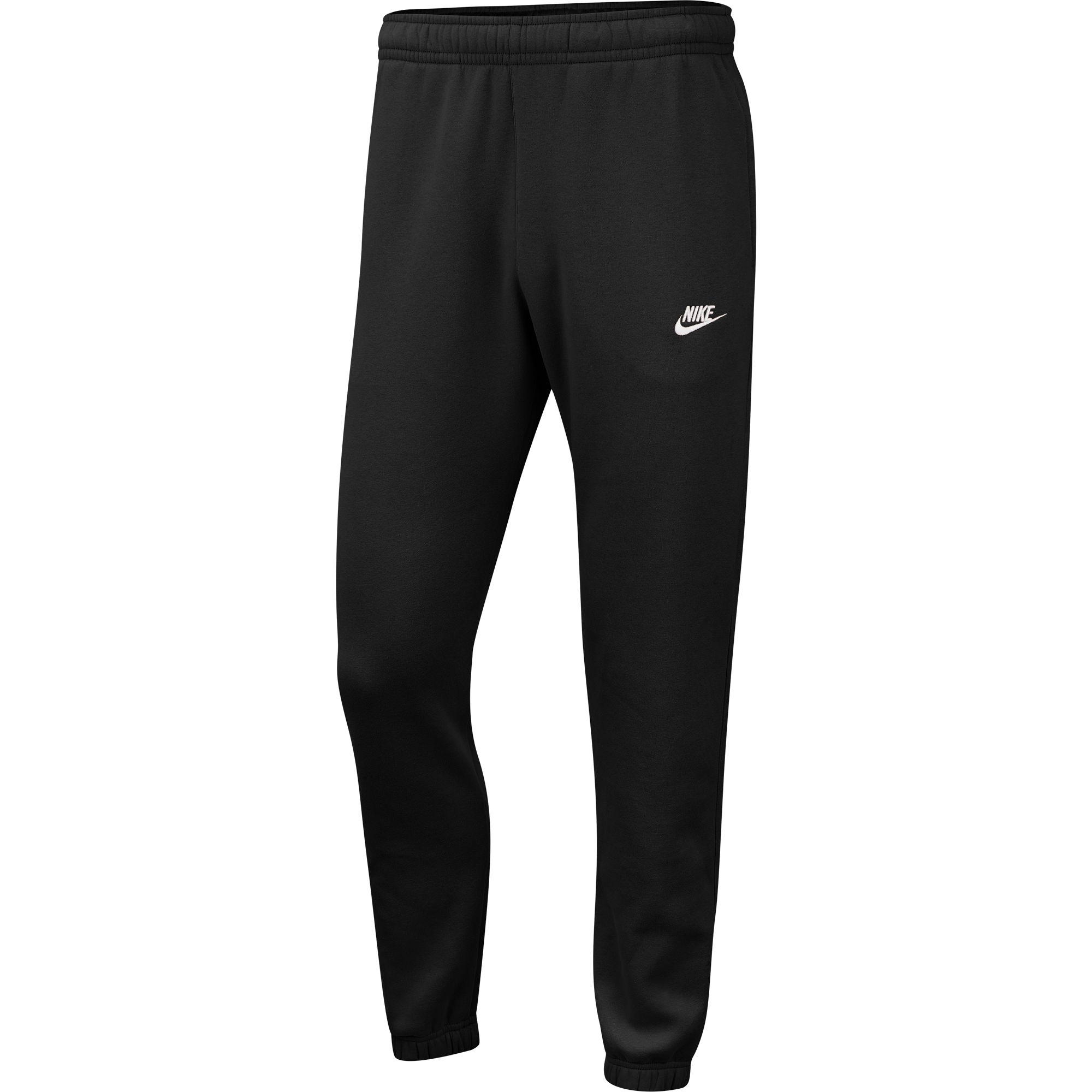 Men's Sportswear Club Fleece Pants, Black, swatch
