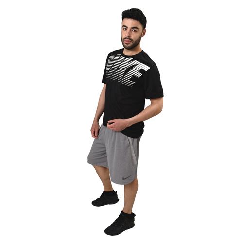 Men's Short Sleeve Legend Gym Dry-Fit Tee, Black, swatch