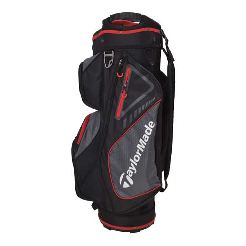 Cart Bag, Black/Red, swatch