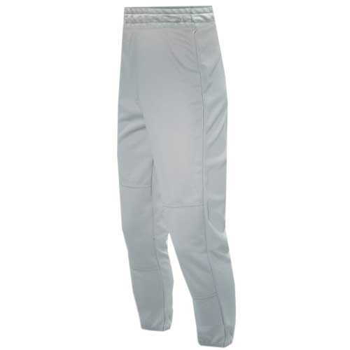 Youth Pull-Up Baseball Pants, Gray, swatch