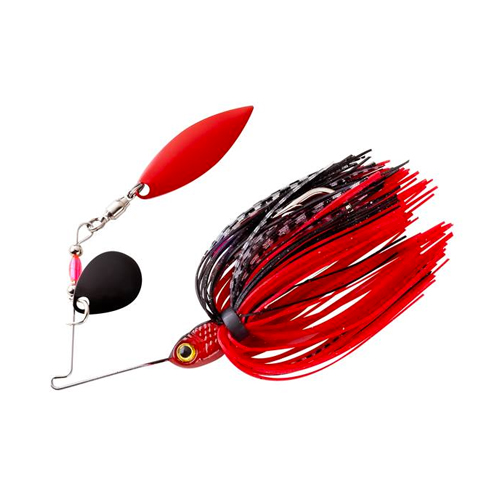 Pradco Lures Pond Magic Spinnerbait, Red, swatch