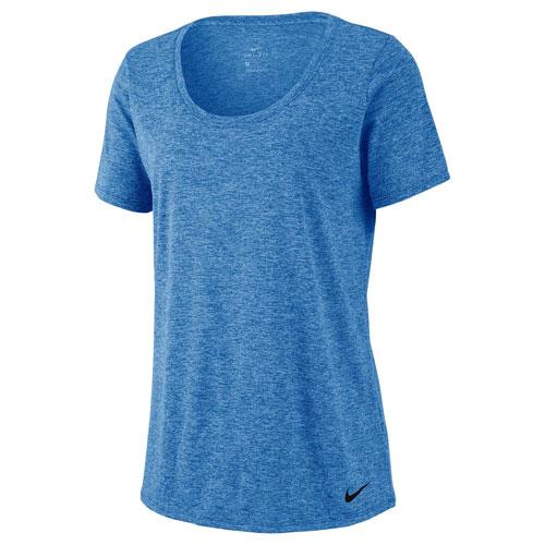 Women's Dry Legend Short Sleeve Top, Blue, swatch