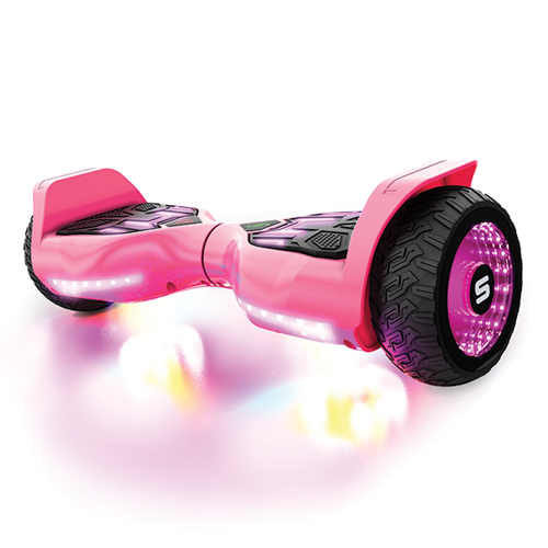 Warrior T580 Hoverboard, Pink, swatch