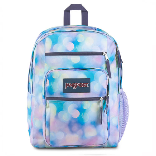 Big Student Backpack, Blue/Purple, swatch