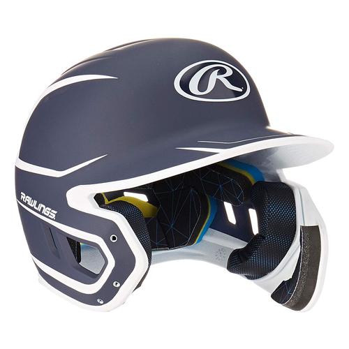 Senior MACH 2-Tone Batting Helmet, Navy, swatch