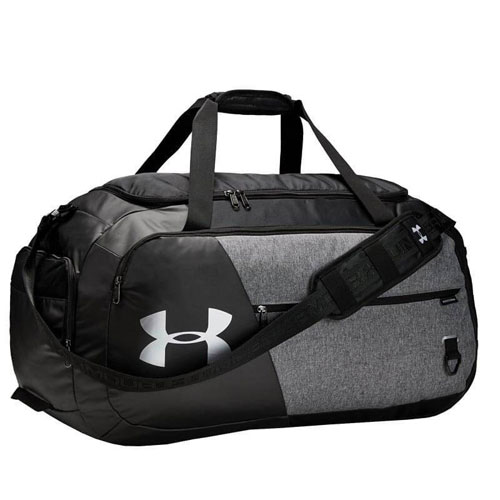 Undeniable 4.0 Large Duffle Bag, Heather Gray, swatch