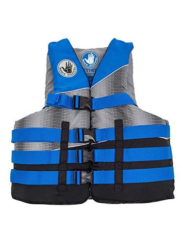 Child Vision Vest 30-50lb, Blue, swatch