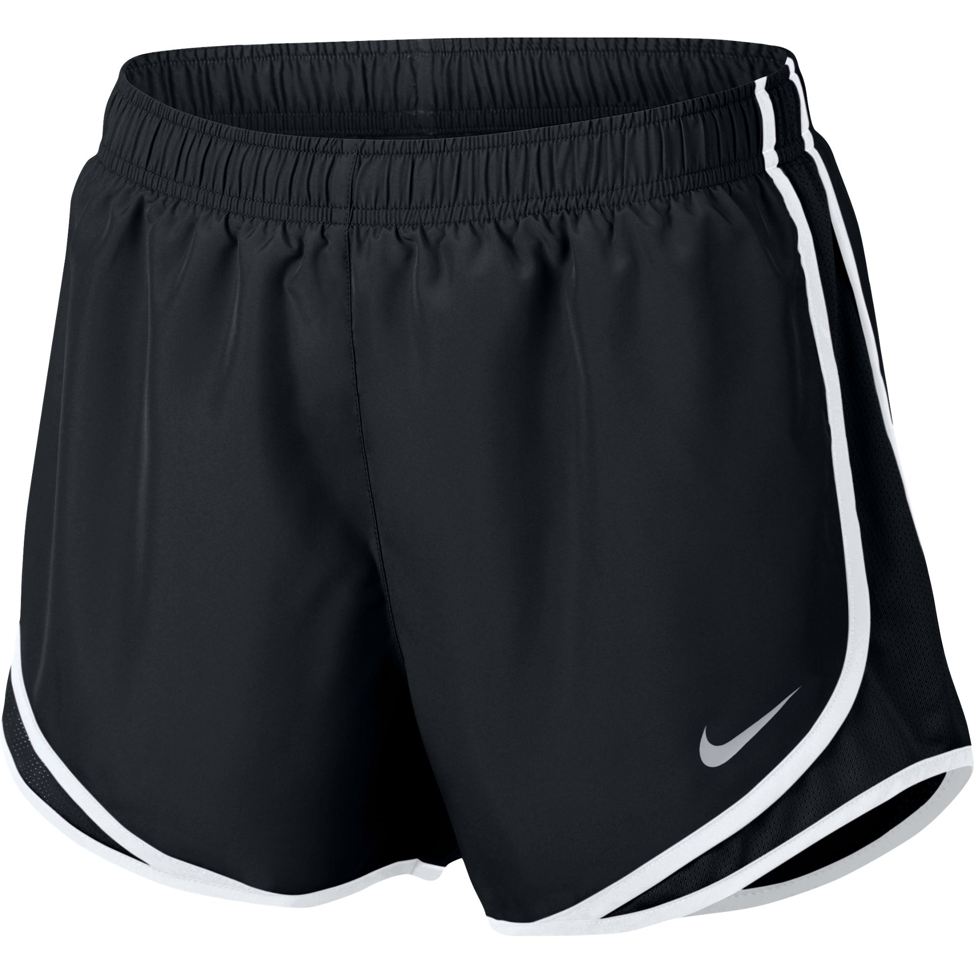 Women's Dry Tempo Short, Black/White, swatch