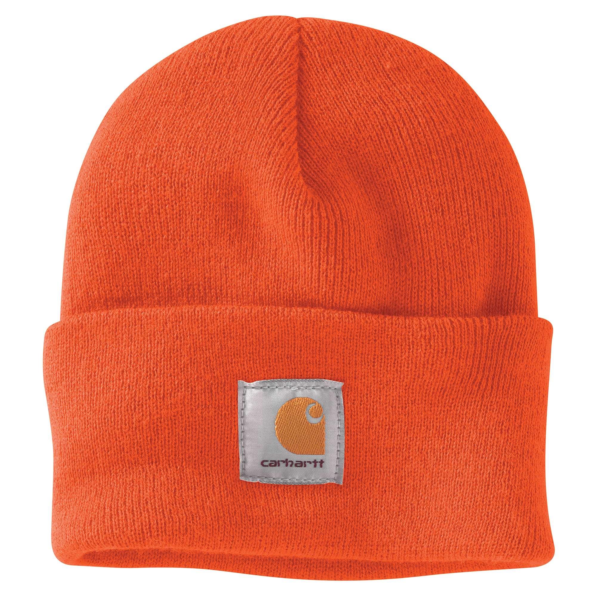 Watch Cap, Orange, swatch