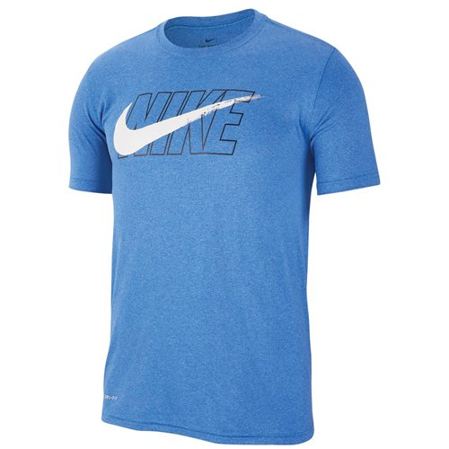 Men's Dry Legend Swoosh Graphic Tee, Royal Bl,Sapphire,Marine, swatch