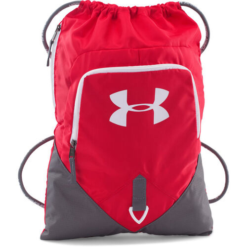 Undeniable Sackpack, Gray/Red, swatch