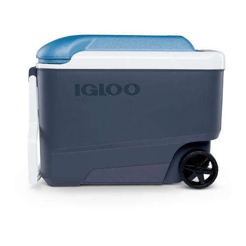 40 Quart Roller Cooler, Blue, swatch