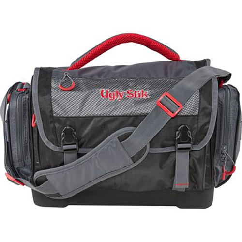 Soft Tackle Bag With Two Stow Boxes, Gray, swatch