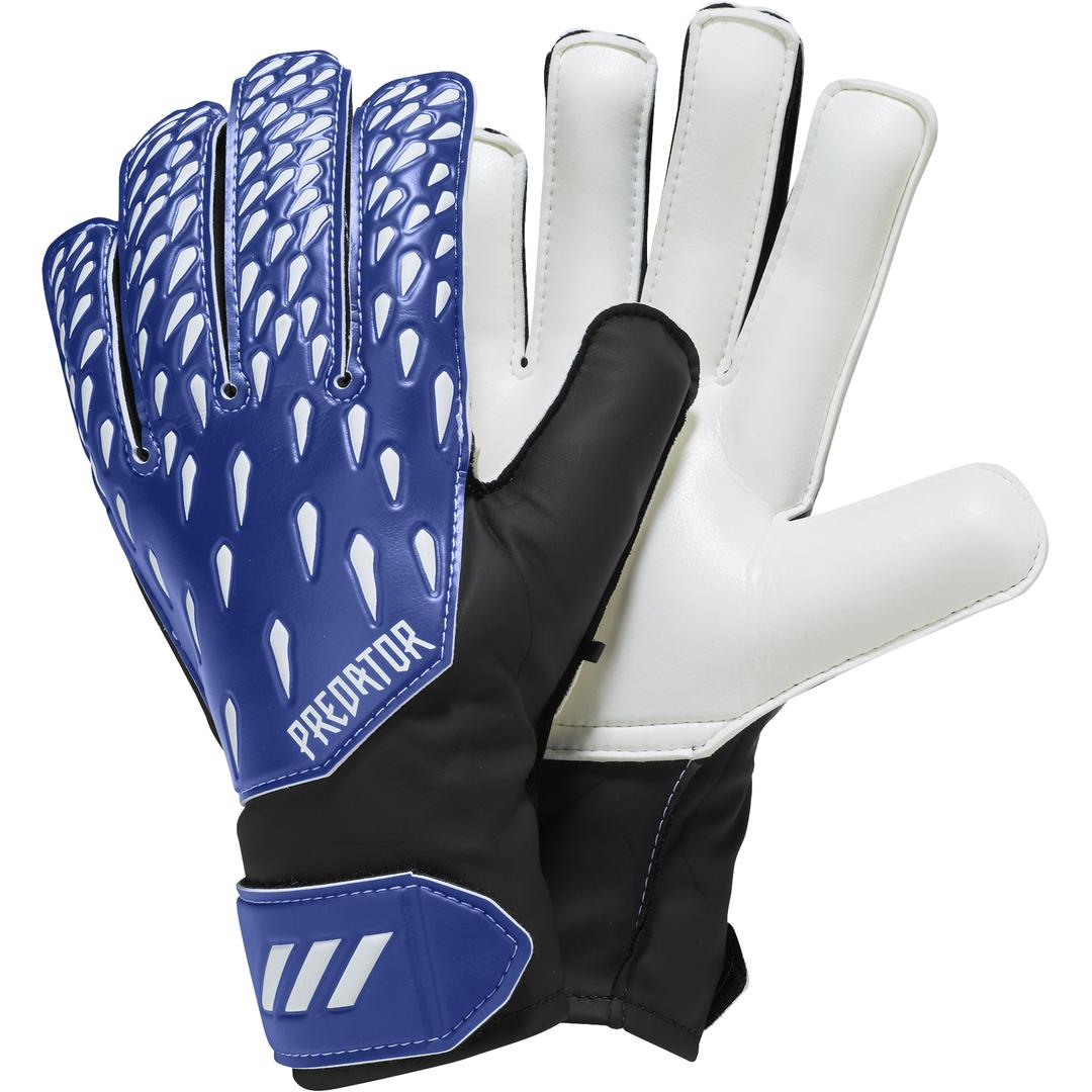 Predator Junior 20 Training Gloves, Blue/White, swatch