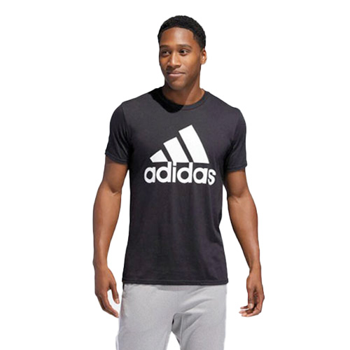 Men's Short Sleeve Badge of Sport Classic T-Shirt, Black, swatch