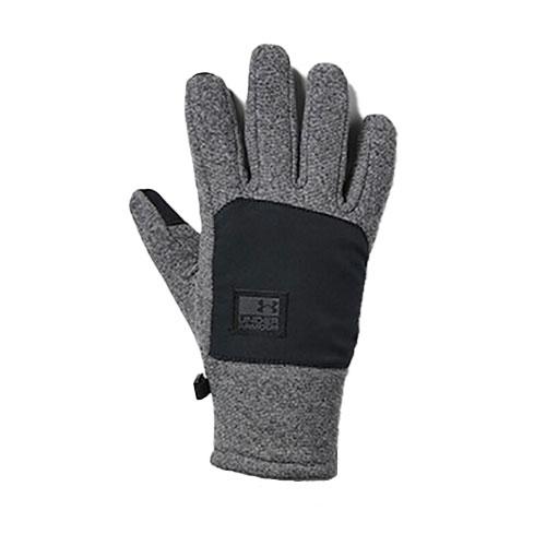 Men's ColdGear Infrared Fleece Gloves, Black, swatch
