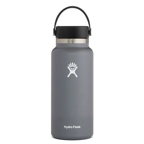 32 Oz Wide Mouth Water Bottle, Stone, swatch