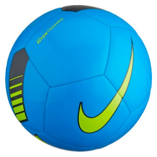 Pitch Training Soccer Ball, Blue/Yellow, swatch
